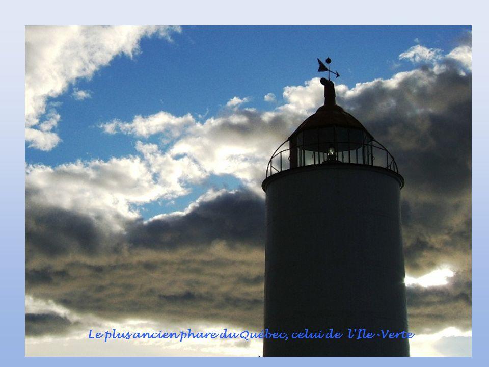 Le plus ancien phare du Québec, celui de lÎle -Verte