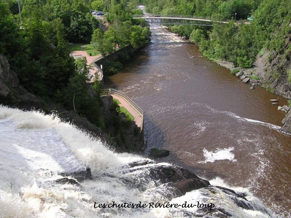 Les chutes de Rivière-du-loup