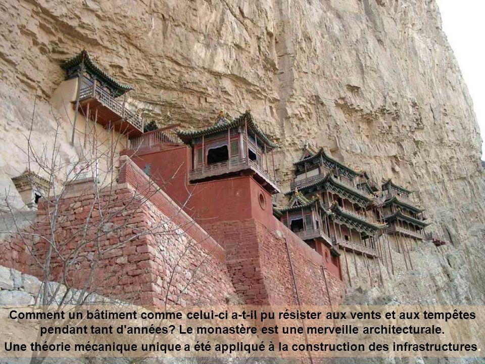 Le monastère, construit en 491, a survécu à plus de 1400 ans.