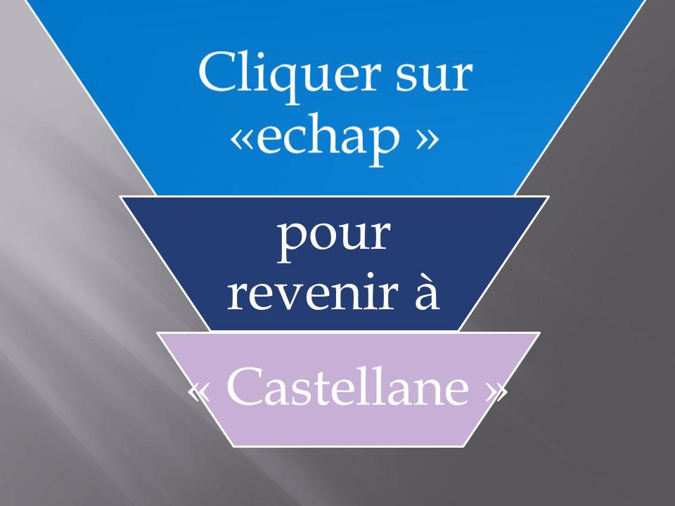 pour revenir à « Castellane »