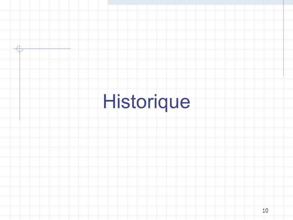 10 Historique