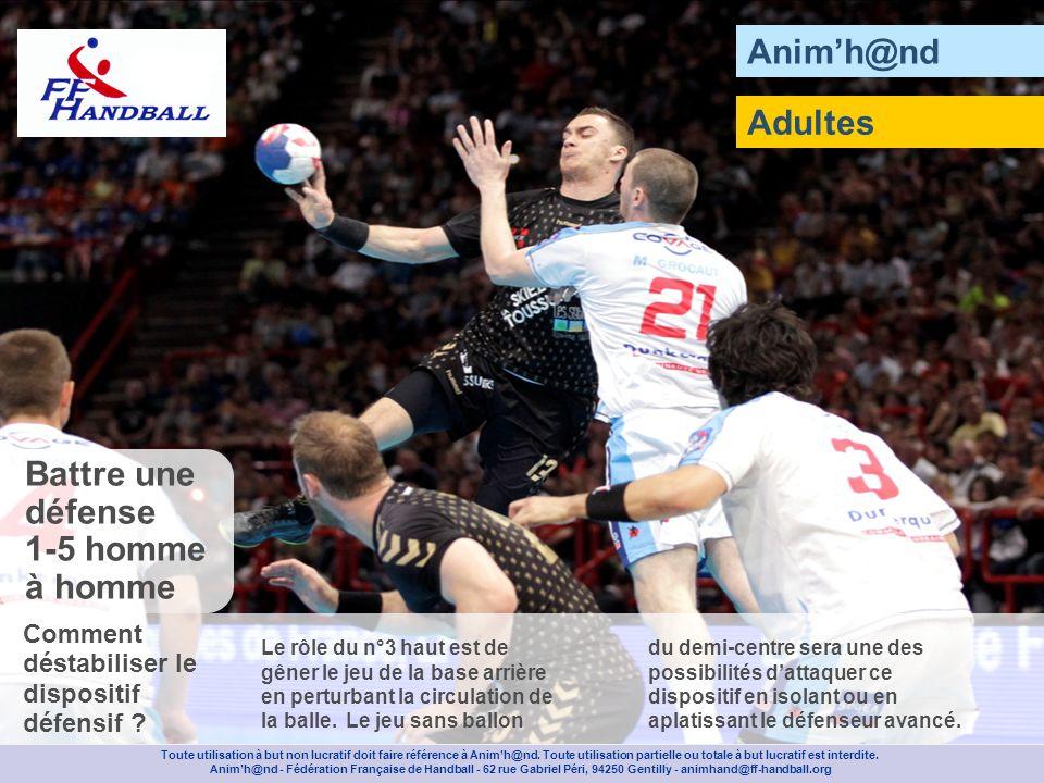 Animh@nd Composez deux équipes de six joueurs avec des chasubles de couleur différente et placez un gardien dans le but.