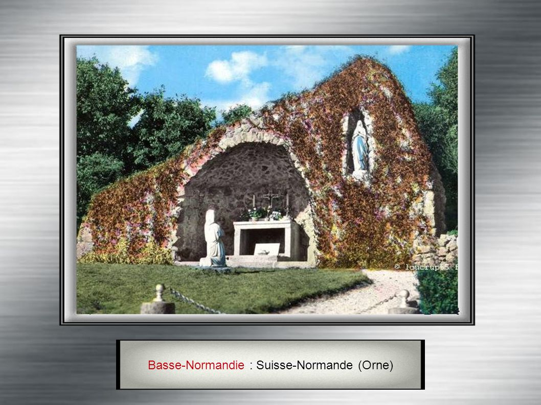 Basse-Normandie : Montchamp (Calvados)