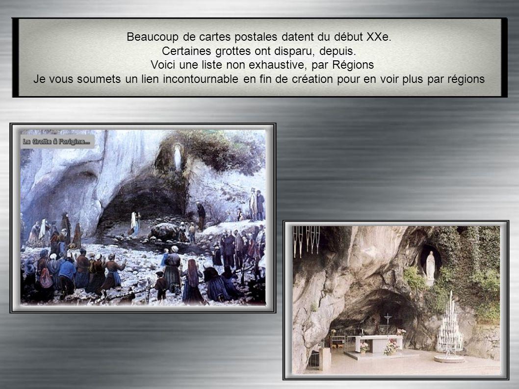 La grotte de Massabielle est un lieu de pèlerinage Catholique située à Lourdes, en France (Hautes- Pyrénées). C' est à cet endroit que Bernadette Soub