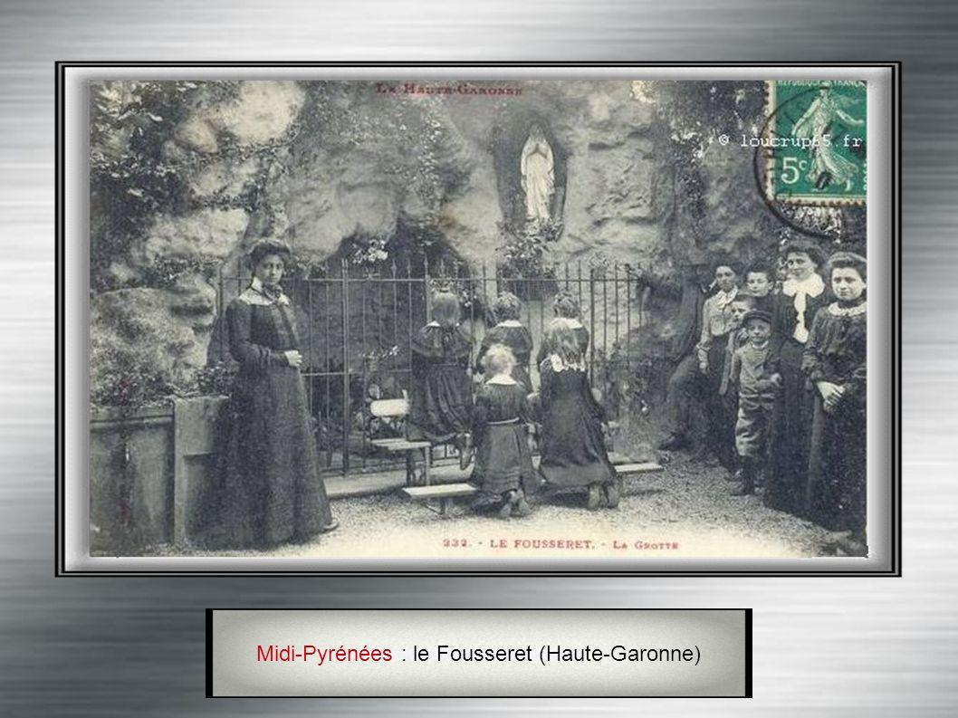 Lorraine : Walscheid (Moselle) Située près des Cimetières militaires des victimes 1914-1918