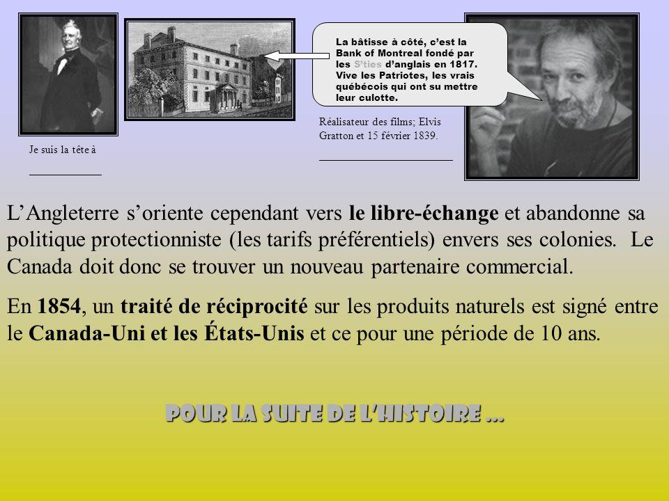 LAngleterre soriente cependant vers le libre-échange et abandonne sa politique protectionniste (les tarifs préférentiels) envers ses colonies.