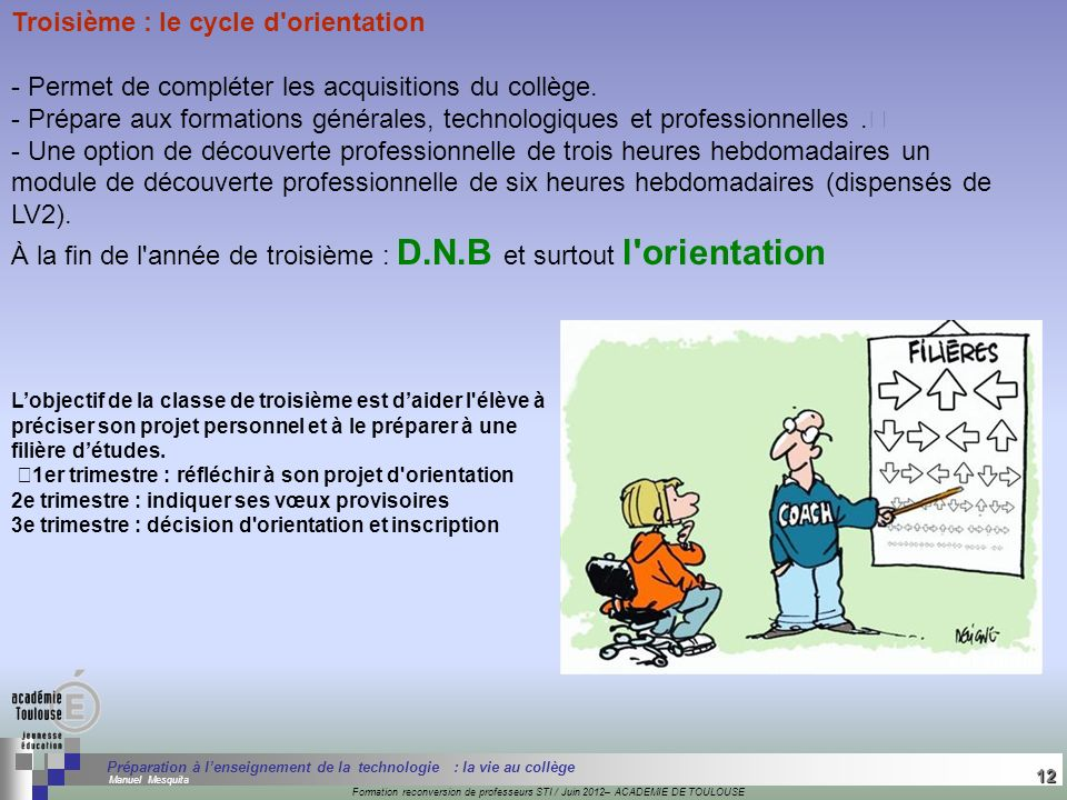 12 Séminaire « Définition de Produits » : méthodologie de définition dune pièce GREC INITIALES Formation reconversion de professeurs STI / Juin 2012–