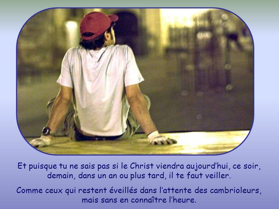 Dans cette phrase, Jésus veut parler de sa venue au dernier jour. De même quil a quitté les apôtres pour monter au ciel, ainsi reviendra-t-il. Mais il