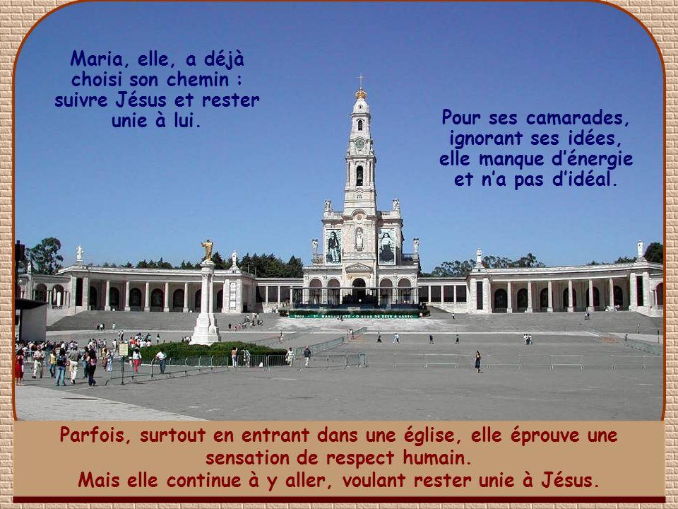 Nous sommes au Portugal.Maria do Socorro, entrée à luniversité, se heurte à cette situation.
