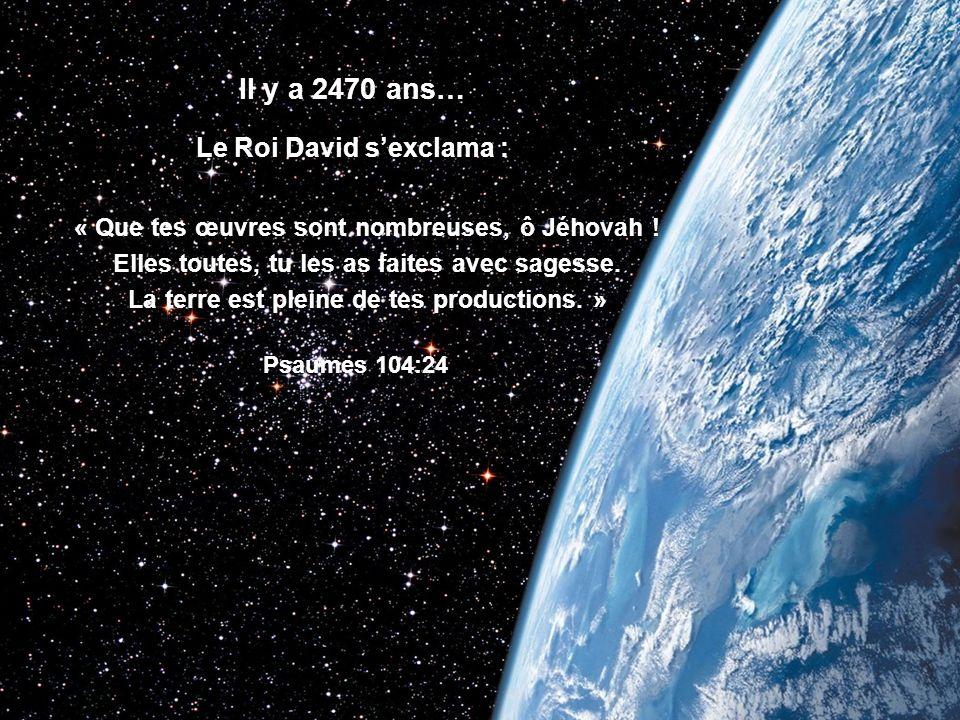 « Tu ouvres ta main et tu rassasies le désir de toute créature vivante. » Psaumes 145:16