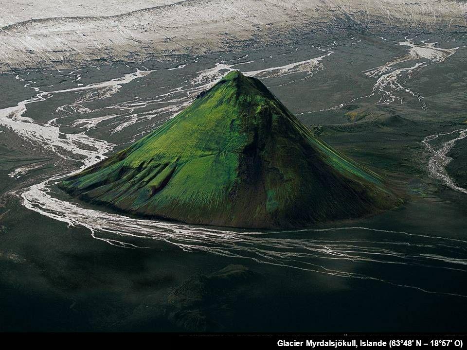 Glacier Myrdalsjökull, Islande (63°48 N – 18°57 O)