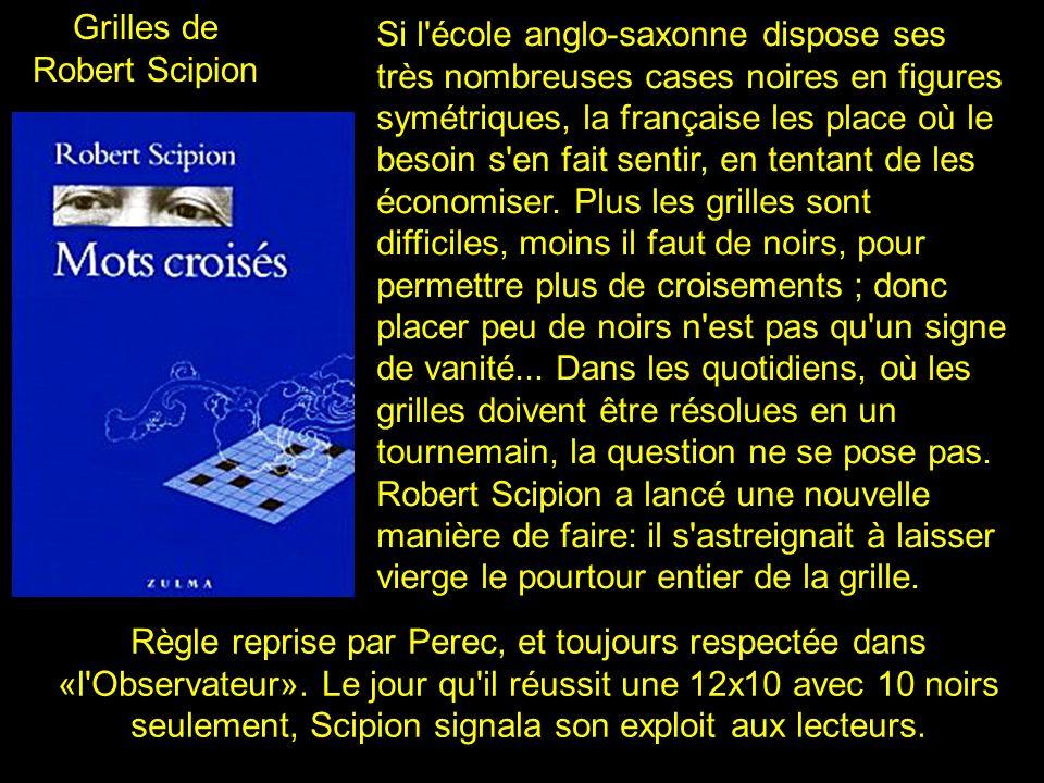 2 Grilles de Georges Perrec