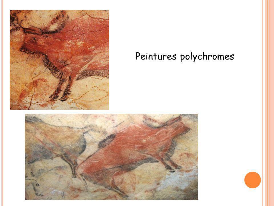 Peintures polychromes