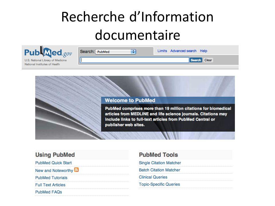 Recherche dInformation documentaire