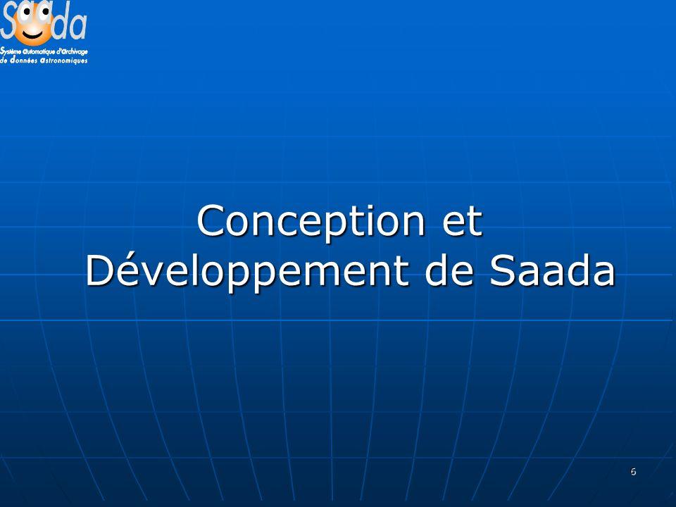 6 Conception et Développement de Saada