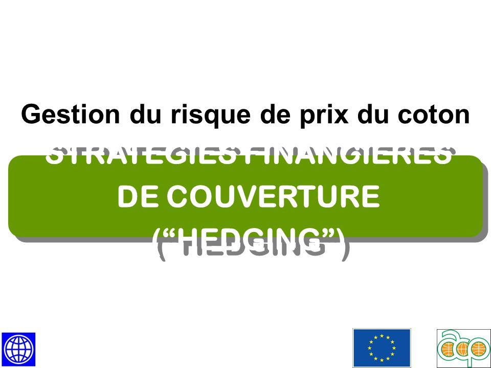 Hedging RISQUE DE BASE Hedging RISQUE DE BASE Les prix du physique et les prix à terme névoluent pas en parfaite corrélation.