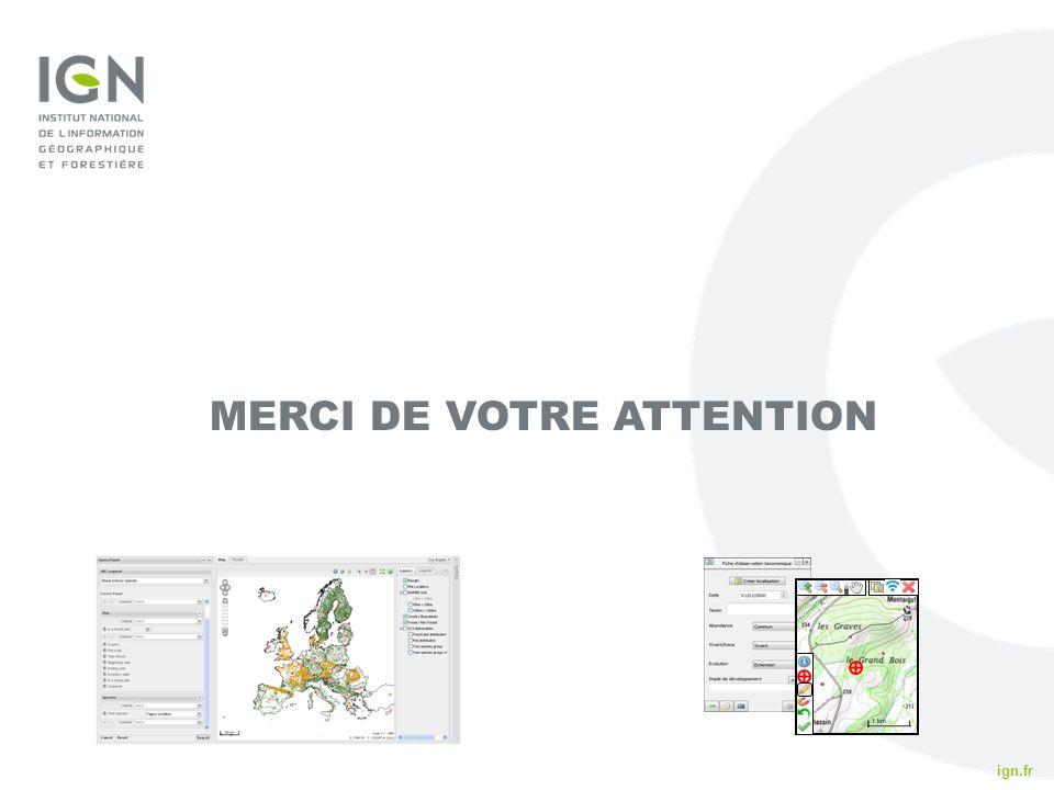 ign.fr IFN 2010 MERCI DE VOTRE ATTENTION