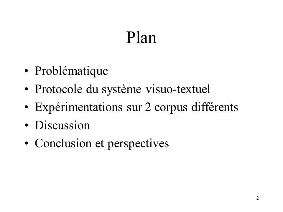 1 Rehaussement de la classification textuelle dimages par leurs contenus visuels pour un système de recherche dimages Sabrina Tollari, Hervé Glotin, J