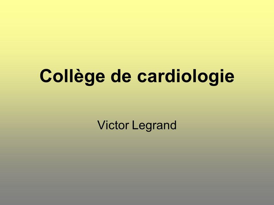 Collège de cardiologie Priorité : - enregistrement complet et individualisé (nr SIS ) des données cliniques nécessaires à l élaboration d un indice de risque lors des ICP.