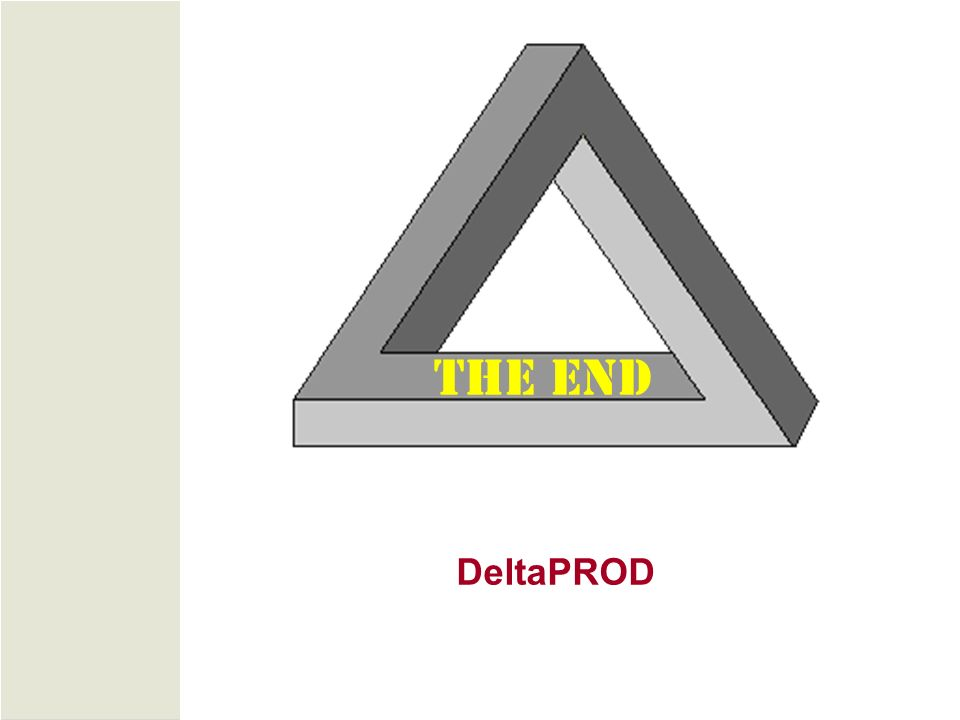 DeltaPROD THE END