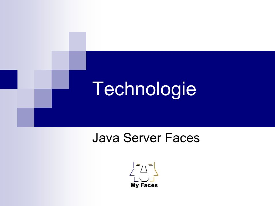 Technologie Java Server Faces