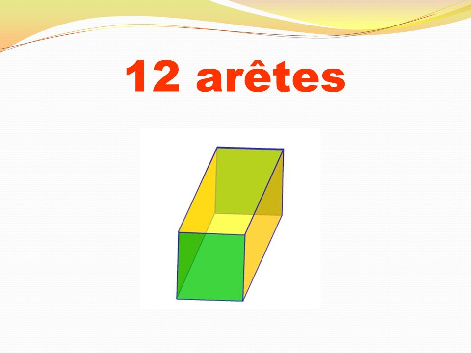 12 arêtes