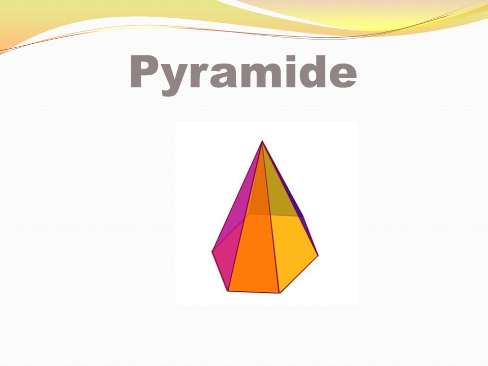 Pyramide à base carrée