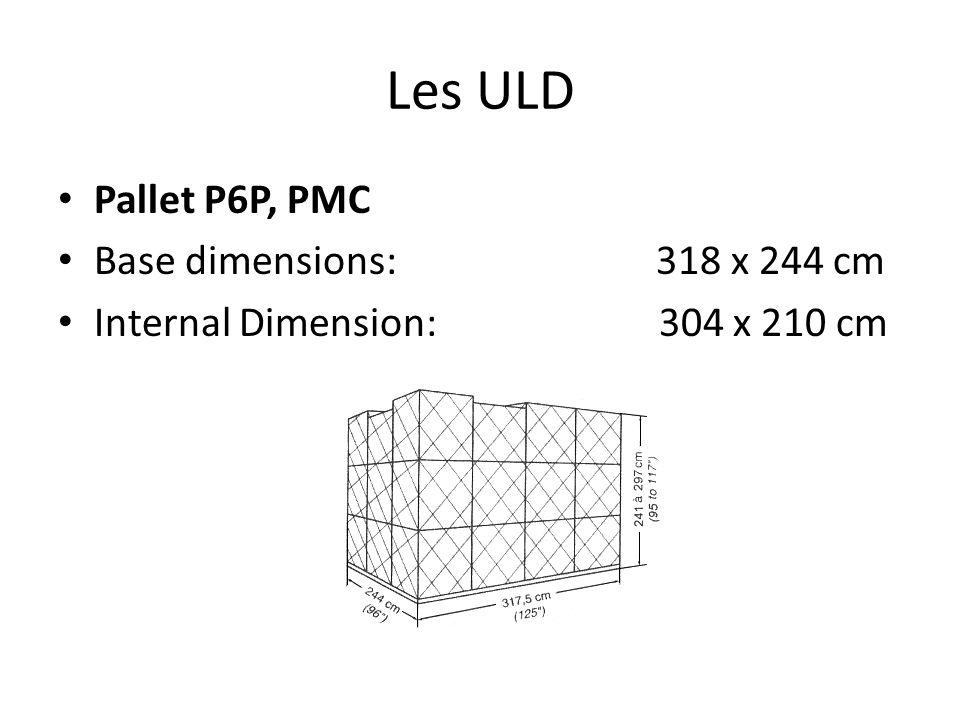 Les ULD Les principaux que nous allons utiliser pour les bagages sont les suivants: AKE = 90kg AKH = 84kg PKC = 55kg