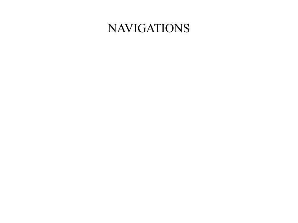 NAVIGATIONS