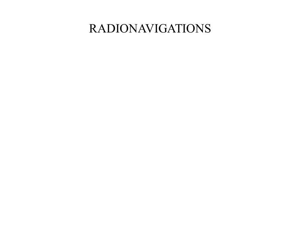 RADIONAVIGATIONS