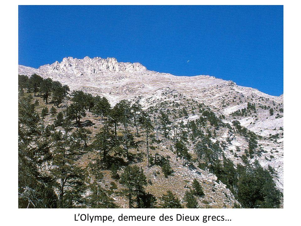 LOlympe, demeure des Dieux grecs…