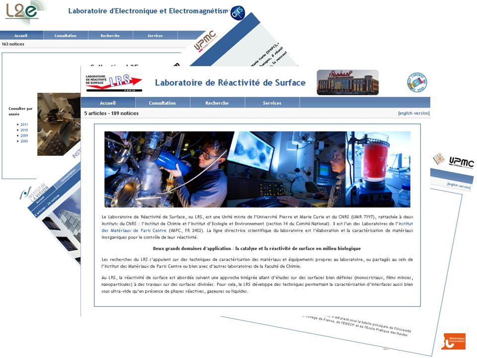 Présentation au Laboratoire Interfaces et Systèmes électrochimiques