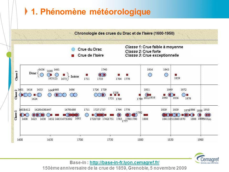 Base-In : http://base-in-fr.lyon.cemagref.fr/http://base-in-fr.lyon.cemagref.fr/ 150ème anniversaire de la crue de 1859, Grenoble, 5 novembre 2009 1.