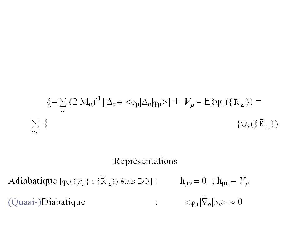 Transformation Adiabatique Diabatique AdiabatiqueDiabatique