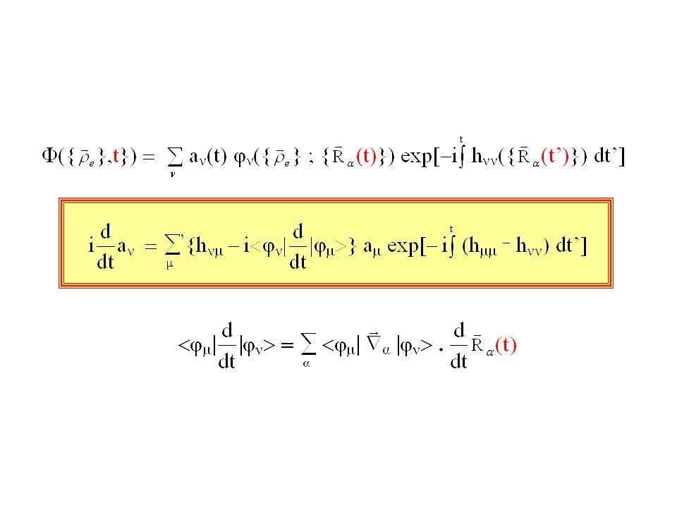 « Génèse » Collisions atome-atome E keV Trajectoires rectilignes : méthode du parametre dimpact, méthode « eikonale » (Modèles LZS, Demkov, Nikitin, etc.) Collisions atome-atome E 10 eV-100 eV Nécessité dutiliser des trajectories incurvées plus réalistes Introduction via la méthode JWKB de la méthode de la « trajectoire (moyenne) commune » Mott 30