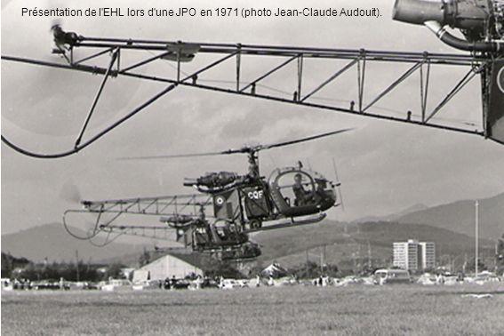 Présentation de l'EHL lors d'une JPO en 1971 (photo Jean-Claude Audouit).