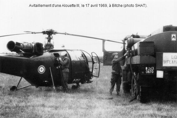 Tous les étés, le Galdiv détache une Alouette au SAMU de Dijon.