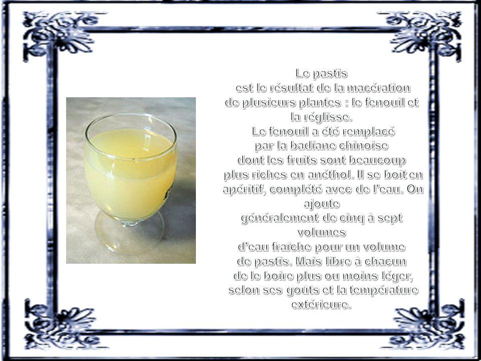 Le Mazout ou le Gasoil ou le Goudron, à base de pastis et soda au cola.