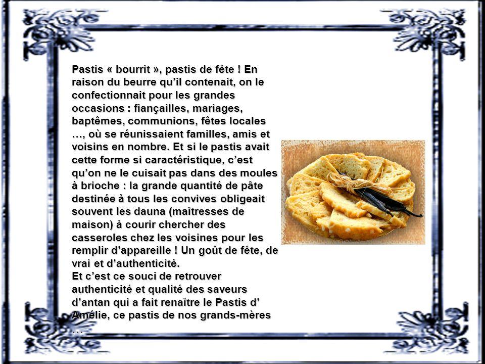 Pastis landais Le pastis landais est une pâtisserie parfumée parfois à leau de fleur d'oranger, à la vanille et au rhum, que l'on trouve couramment da