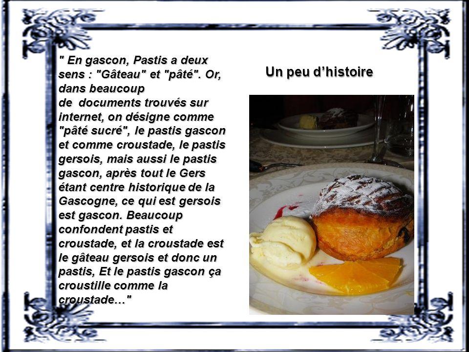 Recette : Pastis landais Pastis landais pour 6 personnes : 450 g de farine, 125 g de beurre, 20 g de beurre pour le moule, 150 g de pruneaux d'agen dé