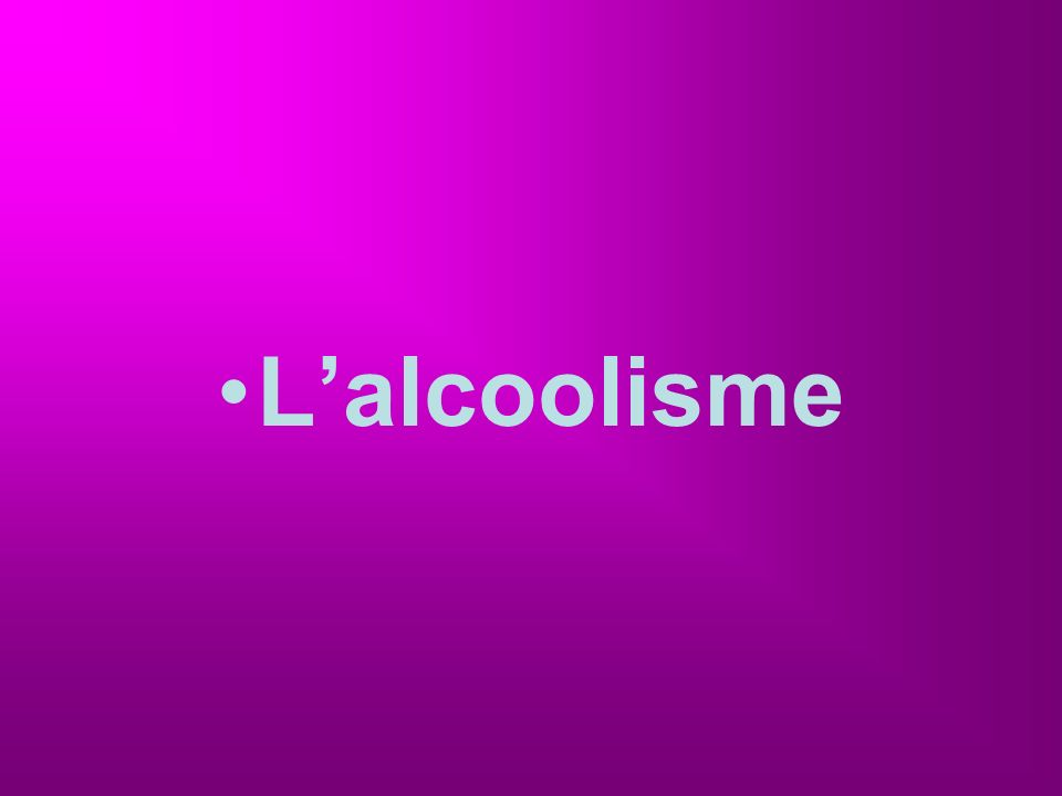Lalcoolisme