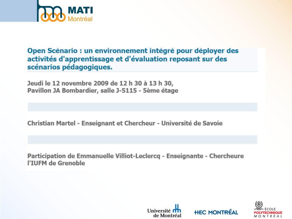 À suivre dans une faculté ou une école près de chez vous http://www.matimtl.ca