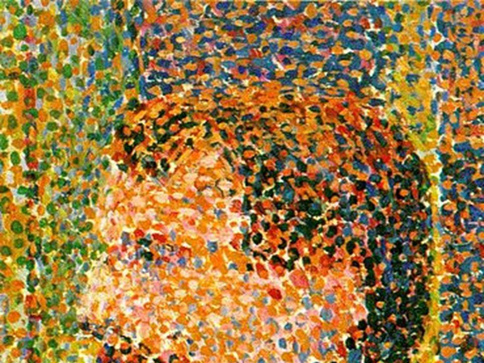 Demostraron que muchos pinceladas inconexos pueden transmitir una sensación unitaria al percibir la obra unitariamente. Si nos acercamos a una obra im