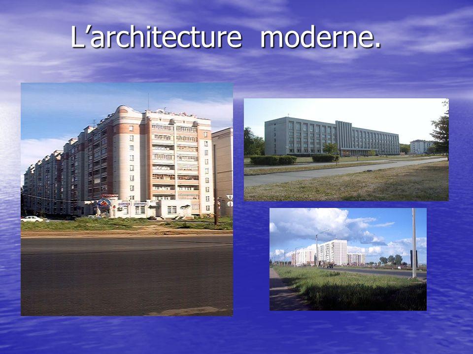 Larchitecture moderne.