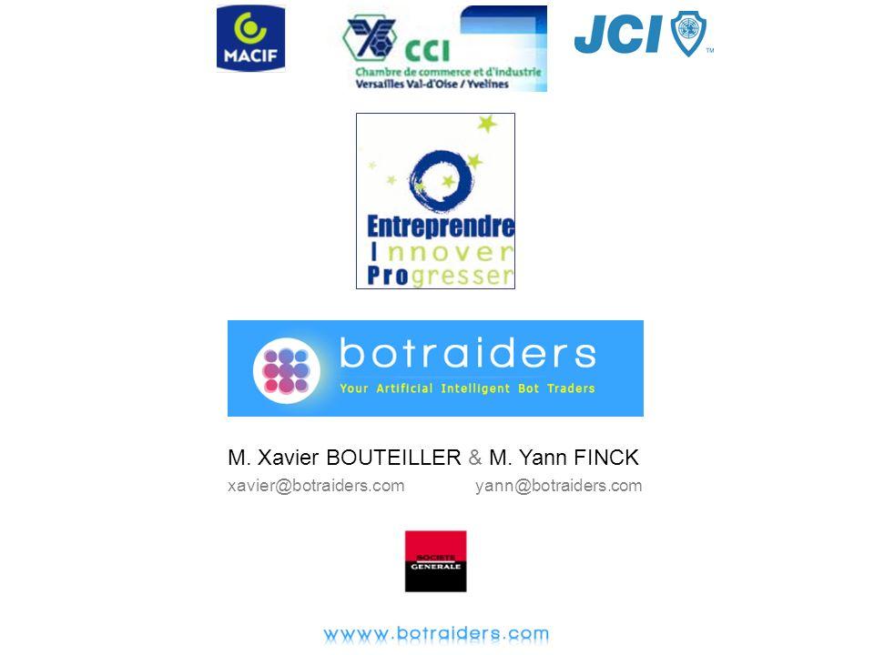 M. Xavier BOUTEILLER & M. Yann FINCK xavier@botraiders.com yann@botraiders.com