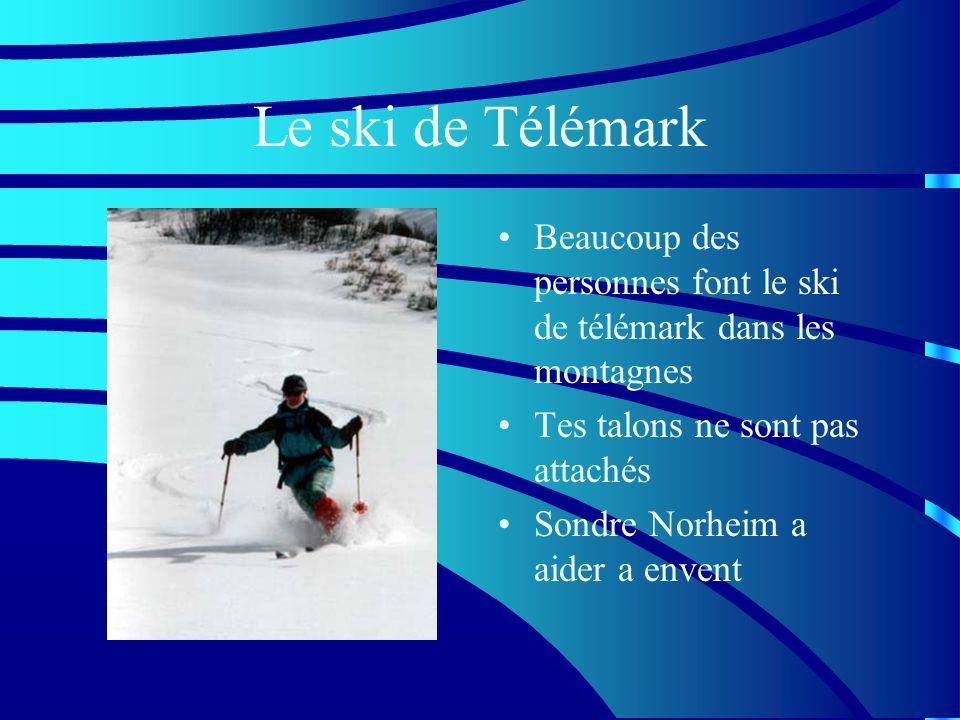 Les skieurs connu Il y a beaucoup de bon skieurs au Yukon Lucy Steele-Masson Jane Vincent Alain Masson