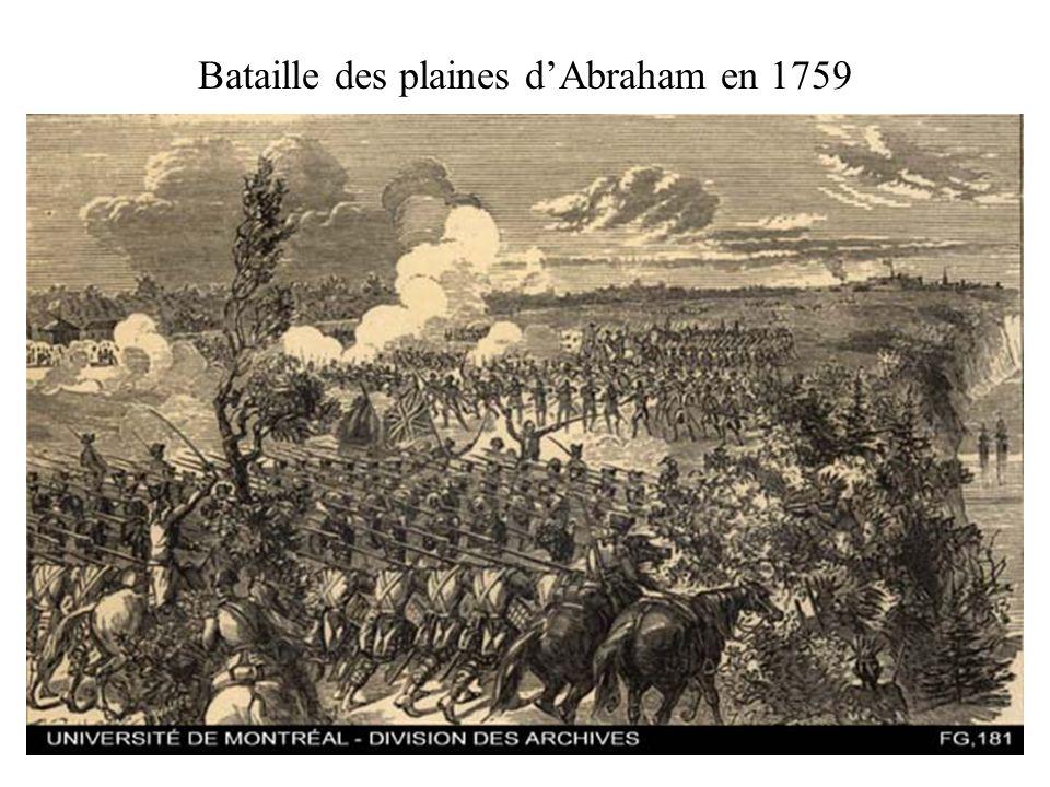 Bataille des plaines dAbraham en 1759