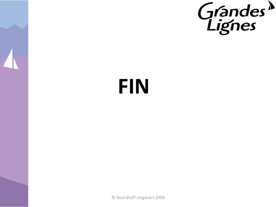 FIN © Noordhoff Uitgevers 2009