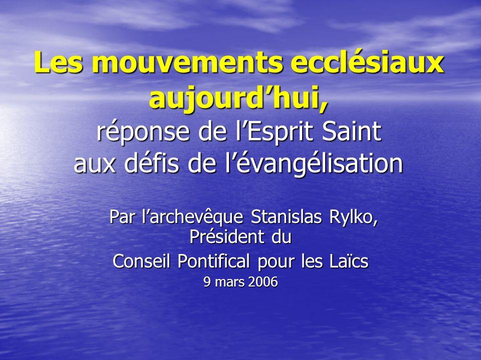 Le défi suprême pour lEglise, au début de ce millénaire, est celui qui lui a toujours été confié : lévangélisation.