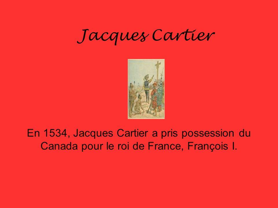 Saint Malo, en Bretagne Le navigateur Jacques Cartier est né à Saint Malo.